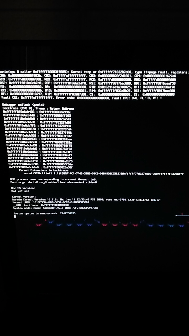 SOLVED] Sierra security update, now kernel panic on boot