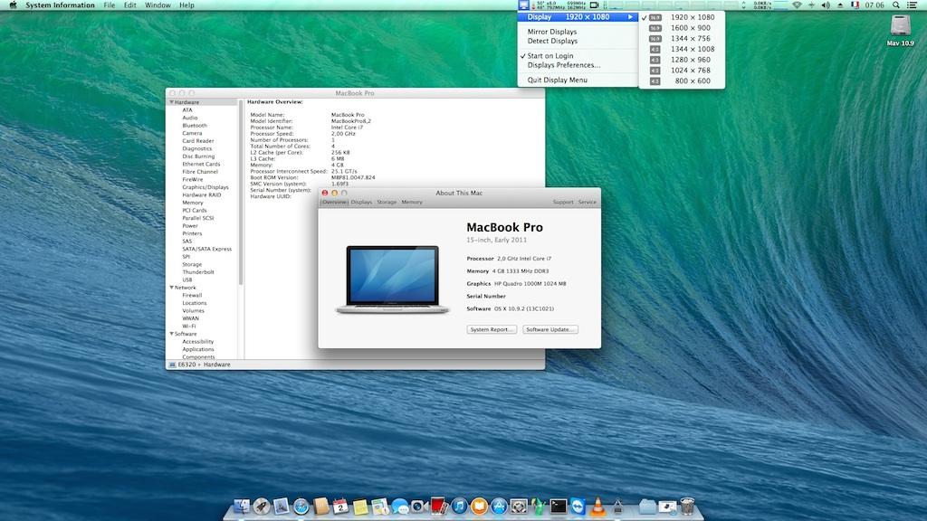 HP EliteBook 8560w with i7-2630QM, nVidia Quadro 1000M and
