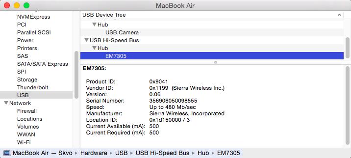 Sierra Wireless QMI modules MC/EM73xx/77xx/8805/etc , Dell