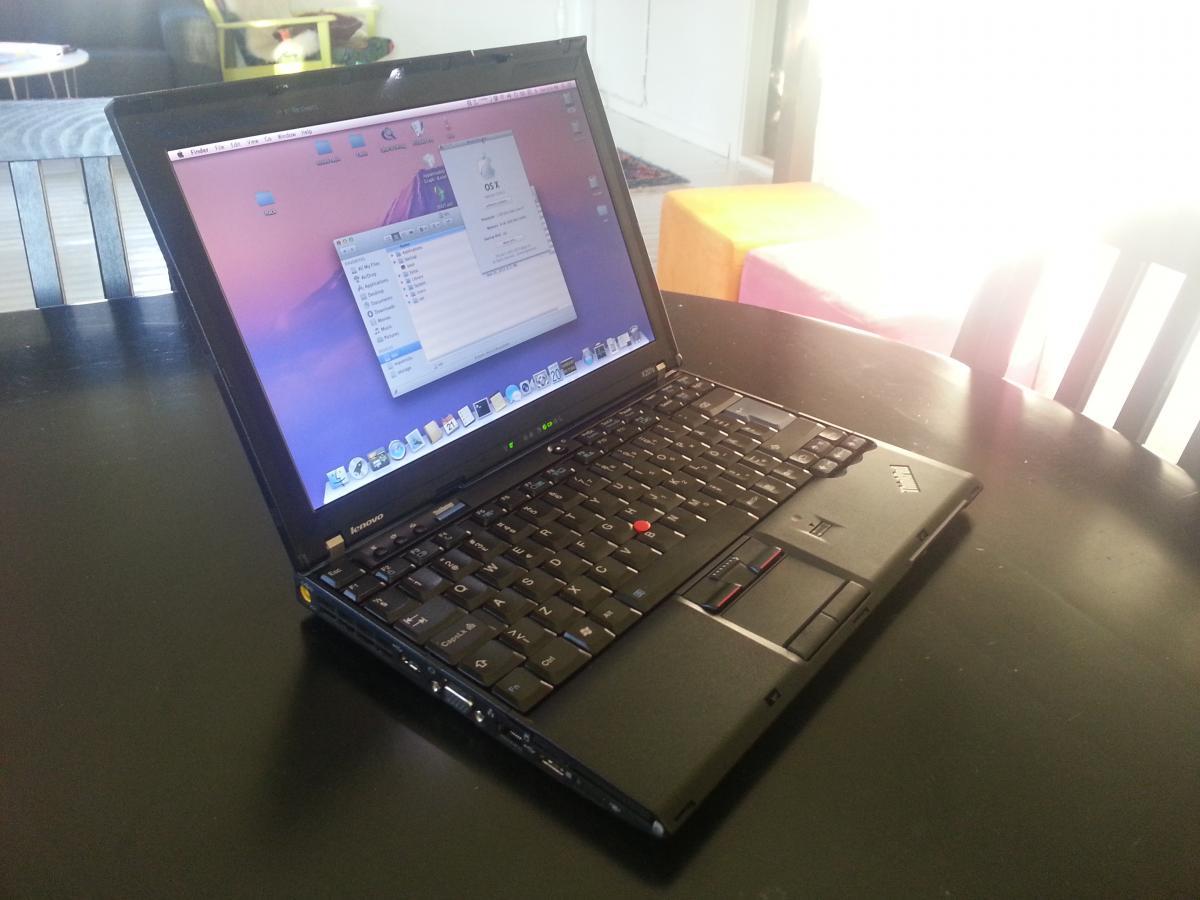 Install OSX on Lenovo Thinkpad X201s (and maybe x201) - Lenovo