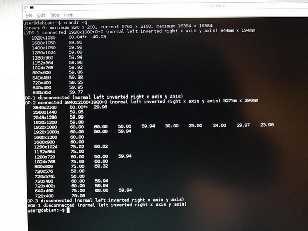 M6800: help required to fix boot to black screen - Precision M