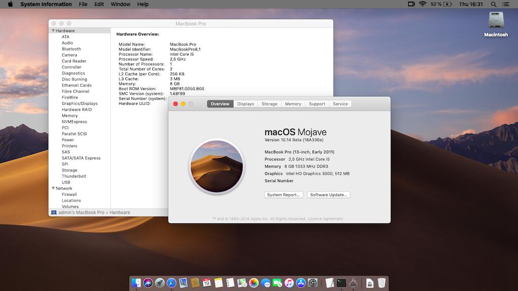 macOS 10 14 Mojave Betas Releases - macOS Mojave - osxlatitude com