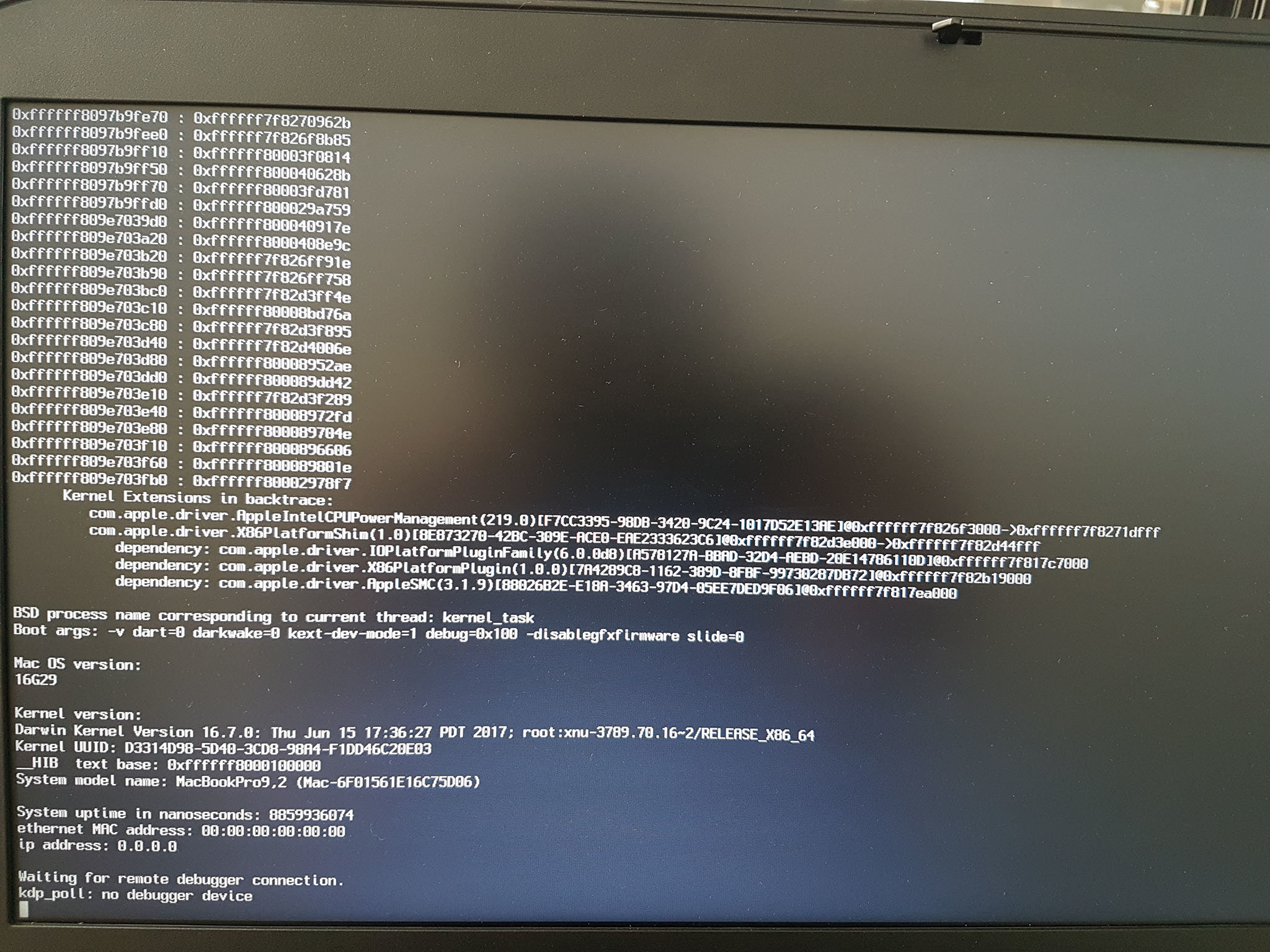 E5430 Sierra 10 12 6 Install - Some Remaining Issues - E5xxx