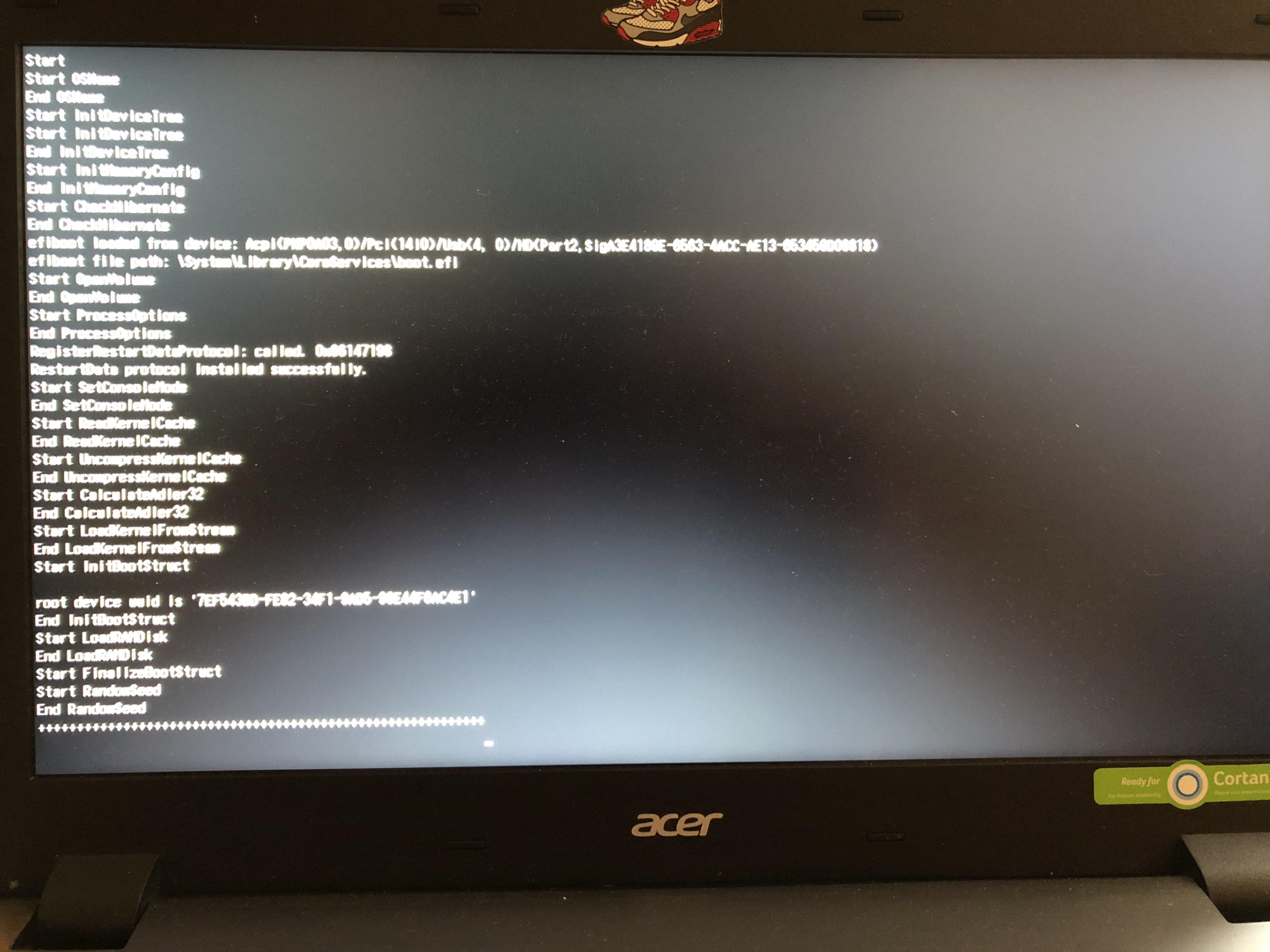 SUCCESS] Acer Aspire V 15 V5-591G-55TU [Mojave] [Dual-Boot