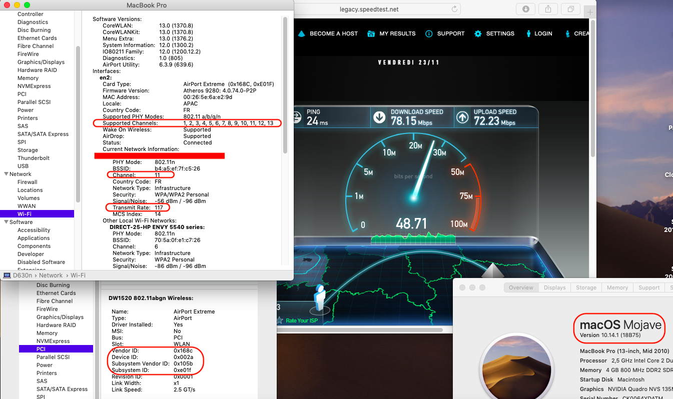Atheros AR5B93 very slow in Dell E7440 - Wireless and