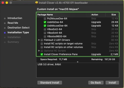 Install macOS Mojave on Asus N73SV Clover Botloader Legacy ESP