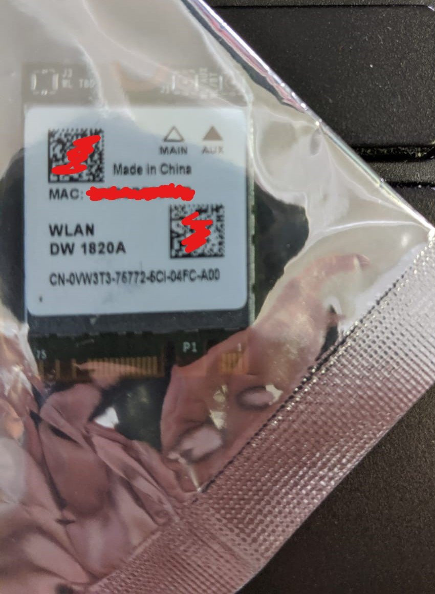 Dell DW1820A doesn't want to cooperate - Wireless and