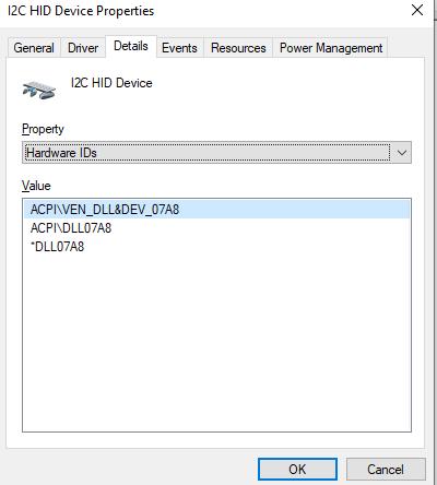 SOLVED] Dell Latitude 5580 (Kabylake i7-7600U) No Touchpad